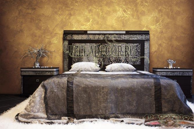венецианская штукатурка фото в спальне