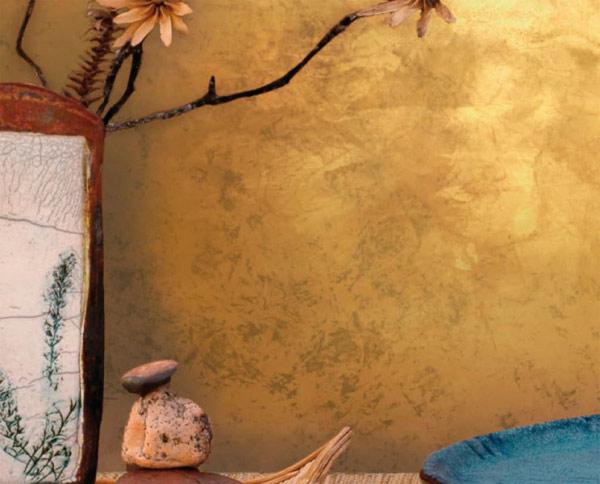 Фото шелковой штукатурки в интерьере